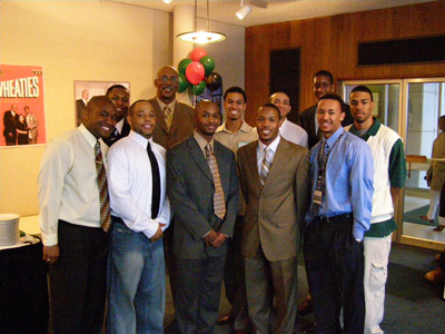 United Men of Color with Nevil Shed